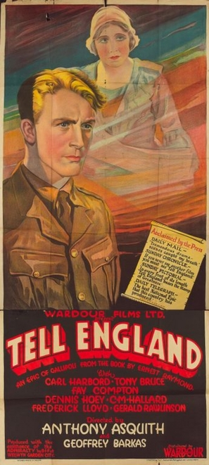 Tell England - Movie Poster (thumbnail)