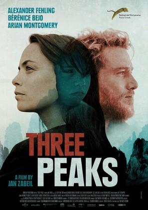 Three Peaks - German Movie Poster (thumbnail)