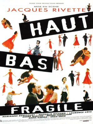 Haut bas fragile - French Movie Poster (thumbnail)