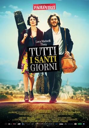Tutti i santi giorni - Italian Movie Poster (thumbnail)
