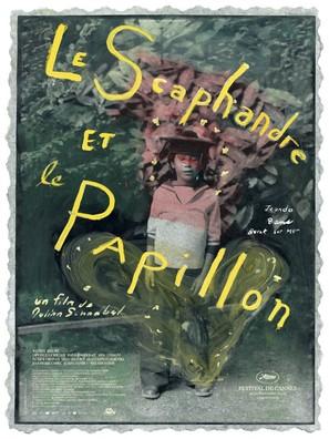 Le scaphandre et le papillon - French Movie Poster (thumbnail)