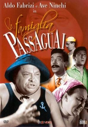 La famiglia Passaguai - Italian DVD movie cover (thumbnail)