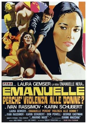 Emanuelle - perché violenza alle donne? - Italian Movie Poster (thumbnail)