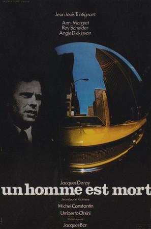 Un homme est mort - French Movie Poster (thumbnail)