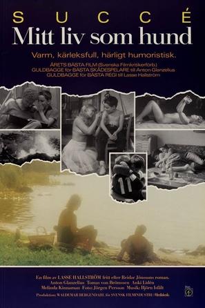 Mitt liv som hund - Swedish Movie Poster (thumbnail)