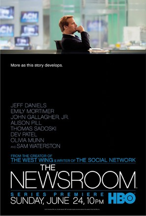 """The Newsroom"" - Movie Poster (thumbnail)"