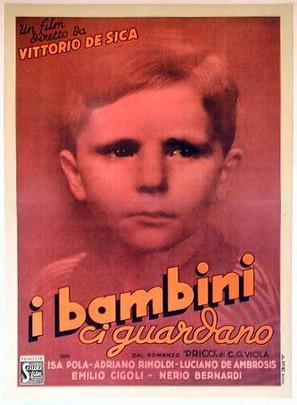 Bambini ci guardano, I - Italian Movie Poster (thumbnail)