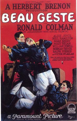 Beau Geste - Movie Poster (thumbnail)