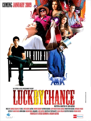 Luck by Chance - Indian Movie Poster (thumbnail)