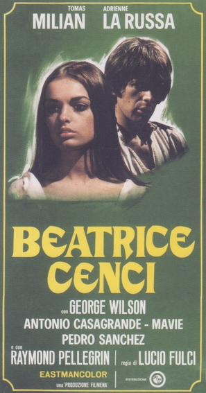 Beatrice Cenci - Italian Movie Poster (thumbnail)