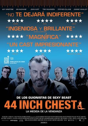 44 Inch Chest - Spanish Movie Poster (thumbnail)