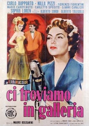 Ci troviamo in galleria - Italian Movie Poster (thumbnail)