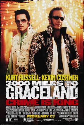 3000 Miles To Graceland - Movie Poster (thumbnail)