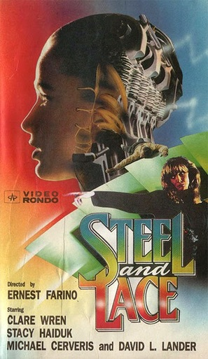 Steel and Lace - VHS movie cover (thumbnail)