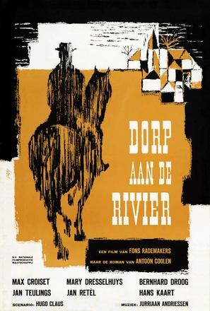 Dorp aan de rivier - Dutch Movie Poster (thumbnail)