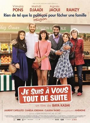 Je suis à vous tout de suite - French Movie Poster (thumbnail)