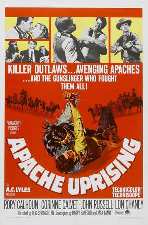 Apache Uprising - Movie Poster (thumbnail)