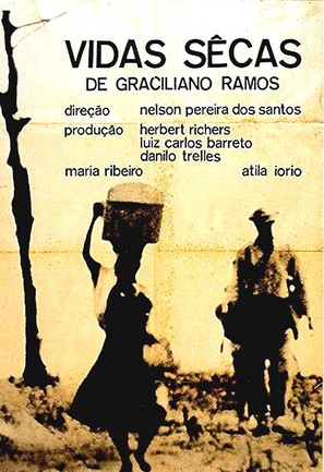 Vidas Secas - Brazilian Movie Poster (thumbnail)
