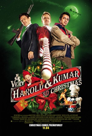 A Very Harold & Kumar Christmas - Movie Poster (thumbnail)