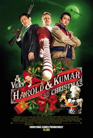 A Very Harold & Kumar Christmas - Movie Poster (thumbnail)