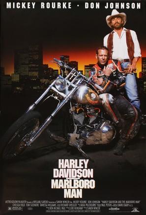 Harley Davidson and the Marlboro Man - Movie Poster (thumbnail)