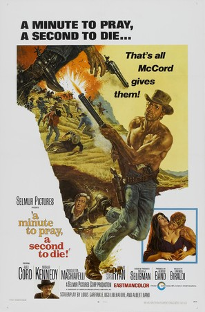 Un minuto per pregare, un instante per morire - Movie Poster (thumbnail)