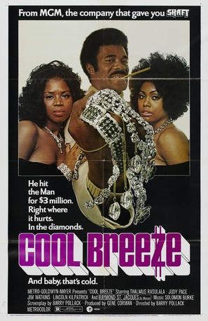 Cool Breeze - Movie Poster (thumbnail)