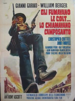 Gli fumavano le Colt... lo chiamavano Camposanto - Italian Movie Poster (thumbnail)