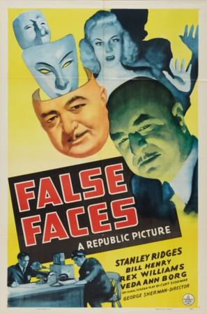 False Faces - Movie Poster (thumbnail)
