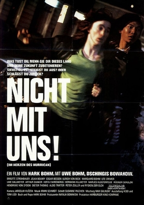 Im Herzen des Hurrican - German Movie Poster (thumbnail)