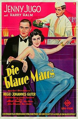 Blaue Maus, Die - German Movie Poster (thumbnail)