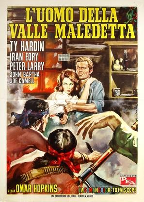 L'uomo della valle maledetta - Italian Movie Poster (thumbnail)