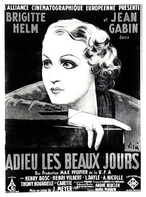 Adieu les beaux jours - French Theatrical movie poster (thumbnail)
