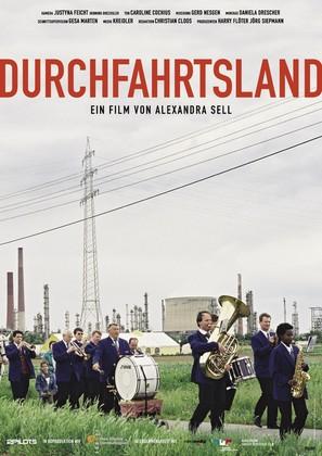 Durchfahrtsland - German poster (thumbnail)
