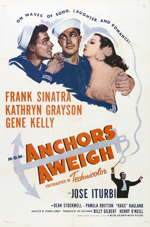 Anchors Aweigh - Movie Poster (thumbnail)