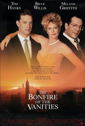 The Bonfire Of The Vanities - Theatrical movie poster (thumbnail)