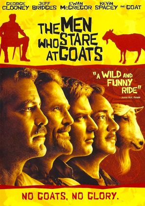 The Men Who Stare at Goats - DVD movie cover (thumbnail)