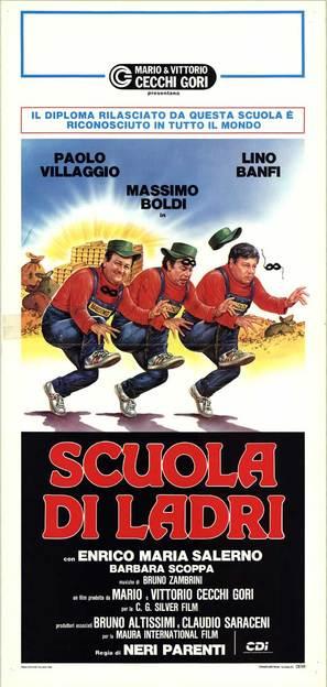 Scuola di ladri - Italian Movie Poster (thumbnail)