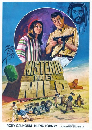 La muchacha del Nilo - Spanish Movie Poster (thumbnail)