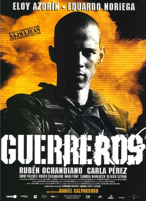 Guerreros - Spanish Movie Poster (thumbnail)