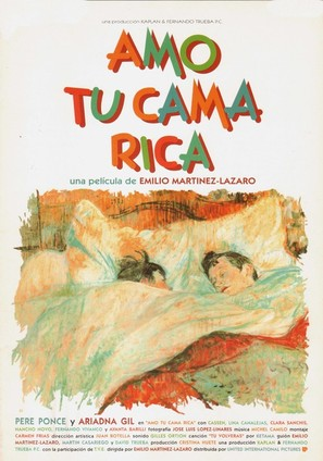 Amo tu cama rica - Spanish Movie Poster (thumbnail)