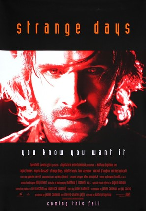 Strange Days - Advance movie poster (thumbnail)