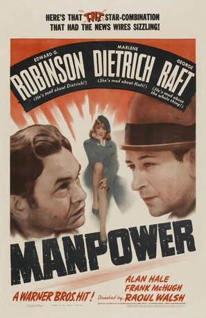 Manpower - Movie Poster (thumbnail)