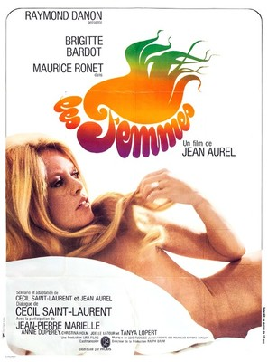 Les femmes - French Movie Poster (thumbnail)