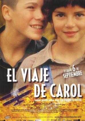 El viaje de Carol - Spanish Movie Poster (thumbnail)