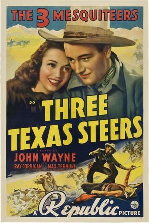 Three Texas Steers - Movie Poster (thumbnail)