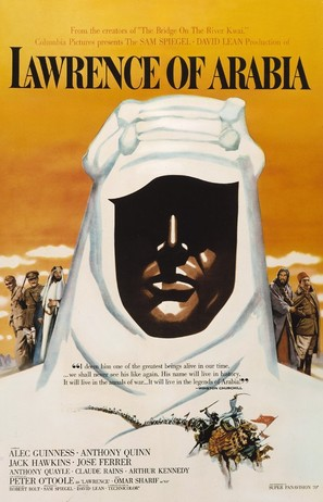 Lawrence of Arabia - Movie Poster (thumbnail)