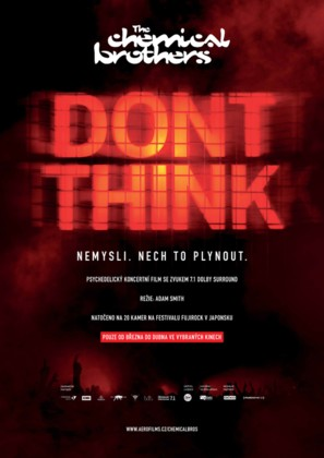 The Chemical Brothers: Don't Think - Czech Movie Poster (thumbnail)