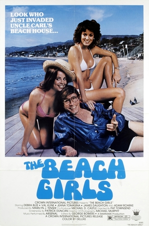 The Beach Girls - Movie Poster (thumbnail)