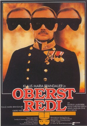 Oberst Redl - German Movie Poster (thumbnail)